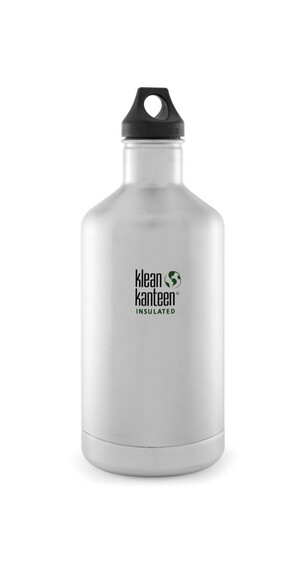 Klean Kanteen Classic Insulated Trinkflasche mit Loop Cap 1900ml brushed stainless